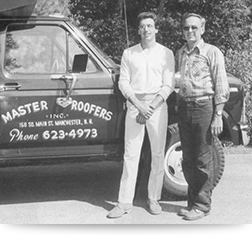 Dan and Vince of Master Roofers