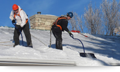Master Roofers Snow Removal